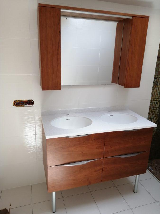 Ebénisterie - Meuble de salle de bain - Menuiserie Ouvrard Guilloteau