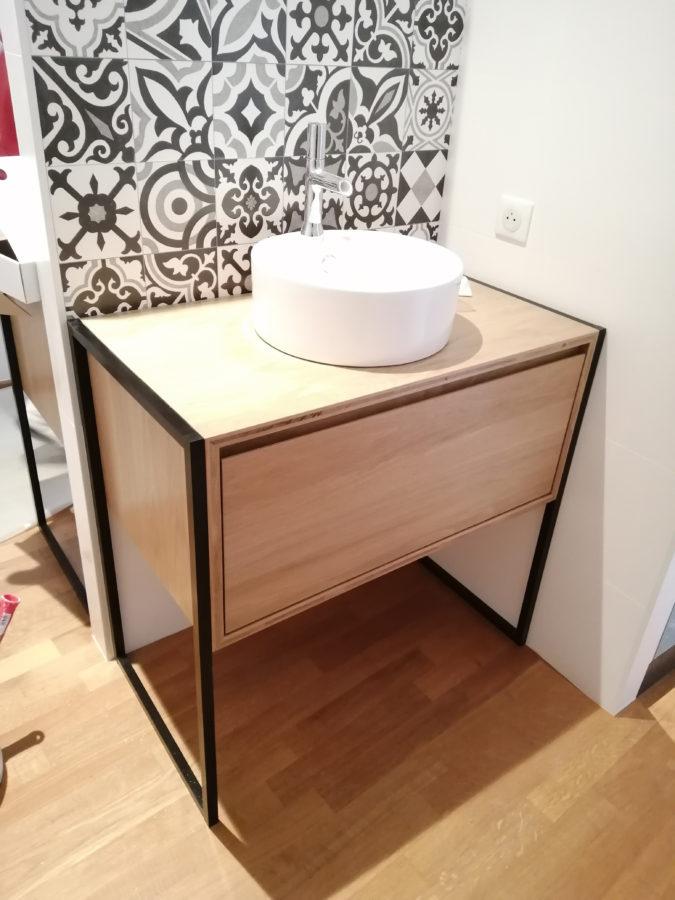 Meuble de salle de bain - Menuiserie Ouvrard Guilloteau