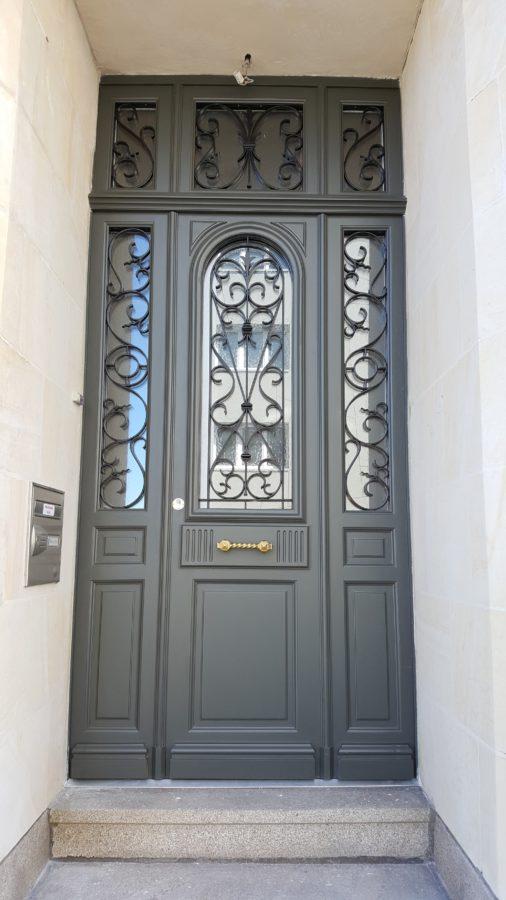 Porte d'entrée - Menuiserie Ouvrard Guilloteau